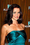January 11, 2010:  Annie Wersching arrives at the Fox All Star Party at the Villa Sorisso in Pasadena, California.Photo by Nina Prommer/Milestone Photo