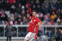 Fussball  1. Bundesliga  Saison 2016/2017  16. Spieltag  FC Bayern Muenchen - RB Leipzig        21.12.2016 Robert Lewandowski (FC Bayern Muenchen)