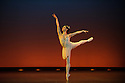 """London, UK. 08.12.2015. Carlos Acosta presents CLASSICAL SELECTION, at the London Coliseum. Picture shows: Marianela Nunez in """"Diana and Acteon"""", by Agrippina Vaganova.  Photograph © Jane Hobson."""