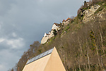 Landtag, Parliament, Schloss, Castle of Vaduz, Rheintal, Rhine-valley, Liechtenstein.