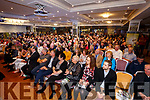 The large crowd at the launch of 'Ireland's Hunger for Justice' at The Rose Hotel on Thursday