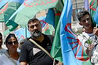 Roma, 2 Agosto 2018<br /> Manifestazione davanti il Parlamento delle comunit&agrave; Sinti e Rom per protestare contro intolleranza e discriminazione e per ricordare la strage nazista del 2 Agosto 1944