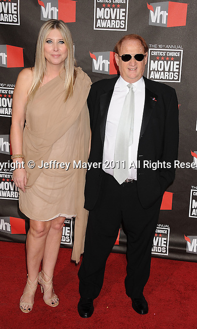 HOLLYWOOD, CA - January 14: Mike Medavoy and wife Irena Medavo arrive at the 16th Annual Critics' Choice Movie Awards at the Hollywood Palladium on January 14, 2011 in Hollywood, California.