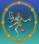 Close-up of Nataraja the Hindu God of dance