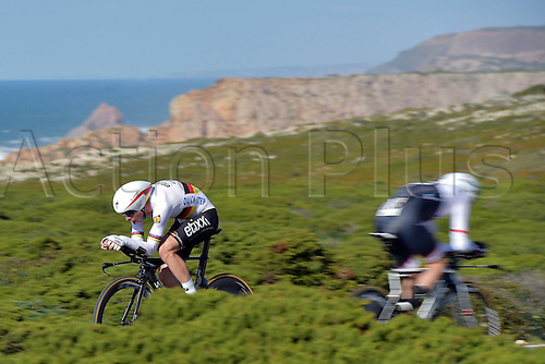 19.02.2016. Sagres, Portual.  MARTIN Tony (GER) Rider of ETIXX - QUICK STEP in action during stage 3 of the 42nd Tour of Algarve cycling race, an individual time trial of 18km, with start and finish in Sagres on February 19, 2016 in Sagres, Portugal.