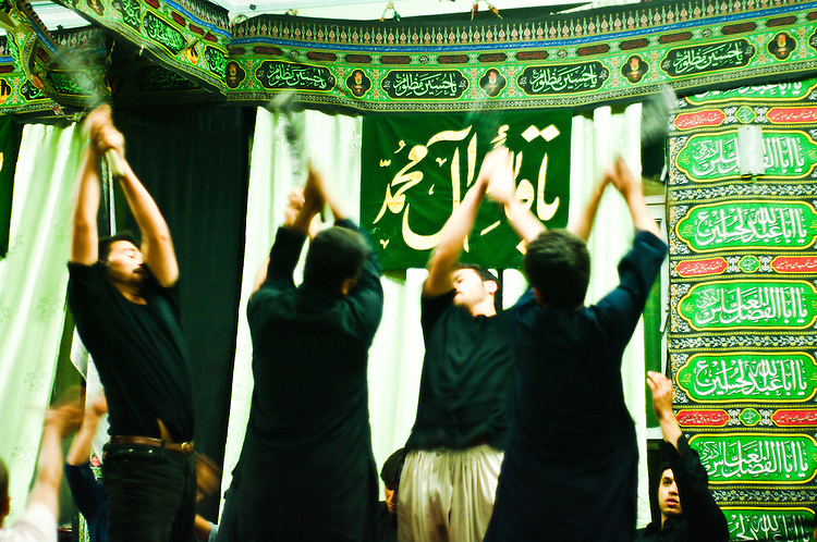 For Shi'as, commemoration of Ashura is not a festival, but rather a sad event. Participants congregate in public processions for ceremonial chest beating as a display of their devotion to Husayn, in remembrance of his suffering and to preach that oppression will not last in the face of truth and justice.