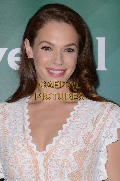 14 January  - Pasadena, Ca - Amanda Righetti. NBC Universal Press Tour Day 2 held at The Langham Huntington Hotel.  <br /> CAP/ADM/BT<br /> &copy;BT/ADM/Capital Pictures
