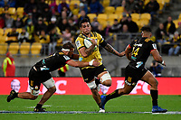 Hurricanes&rsquo; Vaea Fifita in action during the Super Rugby - Hurricanes v Chiefs at Westpac Stadium, Wellington, New Zealand on Saturday  27 April 2019. <br /> Photo by Masanori Udagawa. <br /> www.photowellington.photoshelter.com