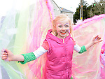 Caoimhe Reynolds who took part in the Dunleer St Patrick's day parade. Photo:Colin Bell/pressphotos.ie