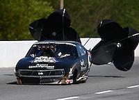 May 16, 2014; Commerce, GA, USA; NHRA pro mod driver Steve Matusek during qualifying for the Southern Nationals at Atlanta Dragway. Mandatory Credit: Mark J. Rebilas-USA TODAY Sports