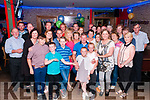 40th Birthady: Donnie O'Sullivan, Carrueragh, Moyvane celebrating his 40th birthday with family & friends at Christy's Bar, Listowel on Saturday night last.