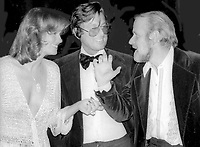 Phyllis George, Robert Evans and Bob Fosse 1978<br /> Photo By Adam Scull/PHOTOlink/MediaPunch<br /> CAP/MPI/PHL/AS<br /> ©AS/PHL/MPI/Capital Pictures