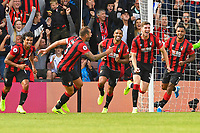 Chris Mepham of AFC Bournemouth celebrates scoring the first goal during AFC Bournemouth vs Sheffield United, Premier League Football at the Vitality Stadium on 10th August 2019
