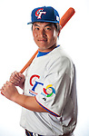 Lin, Hung-Yu of Team Chinese Taipei poses during WBC Photo Day on February 25, 2013 in Taichung, Taiwan. Photo by Victor Fraile / The Power of Sport Images