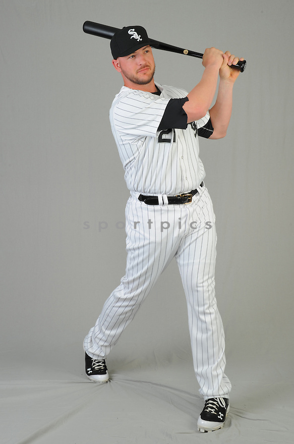 Chicago White Sox Tyler Flowers (21) during photo day on February 28, 2015 in Glendale, AZ.