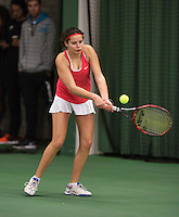 Rotterdam, The Netherlands, March 20, 2016,  TV Victoria, NOJK 14/18 years, Tess Demin (NED)<br /> Photo: Tennisimages/Henk Koster