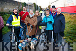 James Clifford, Keith Phelan, Pauline Connolly, Siobhan Keeley, Markie Tarrant Ger Griffin and Kevin Woods, pictured at the Tralee to Fenit Greenway Cycle on Sunday last.