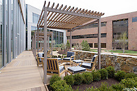 Yale-New Haven Health Park Avenue Medical Center. Architect: Shepley Bulfinch. Contractor: Gilbane Building Company, Glastonbury, CT. James R Anderson Photography, New Haven CT photog.com. Date of Photograph 29 April 2016  Submission 25  © James R Anderson. Norma Pfriem Healing Garden