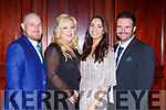 John and Jennifer Coffey, Martina and Jason McCarthy at the Castleisland AFC gala in the River Island Hotel on Saturday night