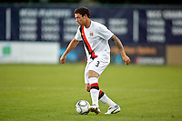 Manchester City's Wayne Bridge during a match at Merlo Field in Portland Oregon on July 17, 2010.