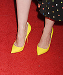 LAS VEGAS, NV - MARCH 28: Actress Jessica Chastain, shoe detail, at CinemaCon 2017 The State of the Industry: Past, Present and Future and STXfilms Presentation at The Colosseum at Caesars Palace during CinemaCon, the official convention of the National Association of Theatre Owners, on March 28, 2017 in Las Vegas, Nevada.