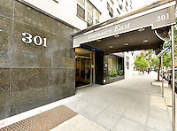Entrance at 301 East 22nd Street