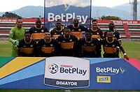 TULUA-COLOMBIA, 20-09-2020: Boca Juniors de Cali y Tigres durante partido por la fecha 8 del Torneo BetPlay DIMAYOR I 2020 en el estadio Doce de Octubre de la ciudad de Tulua. / Boca Juniors de Cali and Tigres, during a match for the 8th date of the BetPlay DIMAYOR I 2020 tournament at the Doce de Octubre de stadium in Tulua city. / Photo: VizzorImage / Juan Jose Horta / Cont.