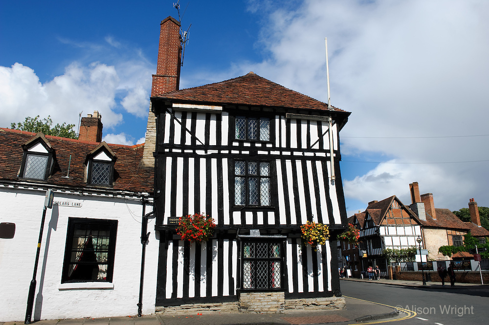 Birthplace of William Shakespeare, houses