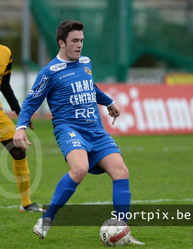 R Knokke FC : Gert Van Walle <br /> Foto VDB / Bart Vandenbroucke