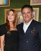4 October 2018-  Hollywood, California - Andy Garcia, Dominik Garc&iacute;a-Lorido, HBO Films' &quot;My Dinner With Herve&quot; Premiere held at Paramount Studios. <br /> CAP/ADM/FS<br /> &copy;FS/ADM/Capital Pictures