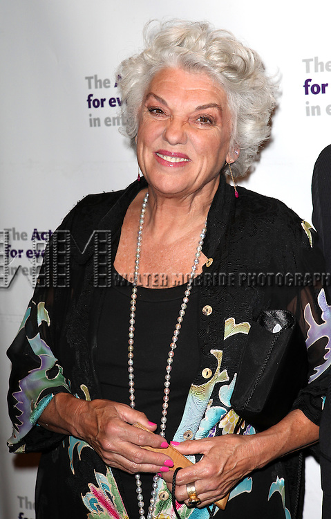 Tyne Daly.attending the Actors Fund Gala honoring Harry Belafonte, Jerry Stiller, Anne Meara & David Steiner at the Mariott Marquis Hotel in New York City on 5/21/12