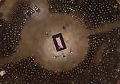 Senate Majority Leader Mitch McConnell, R-Ky., <br />  speaks as Former President George H. W. Bush lies in state in the U.S. Capitol Rotunda Monday, Dec. 3, 2018, in Washington. (Pool photo by Morry Gash via AP)