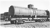 UTLX 13178 tank car at Alamosa 3/4 view<br /> D&amp;RGW  Alamosa, CO  Taken by Ward, Bert H. - 7/10/1946