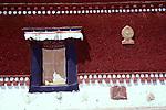 Painted walls at Potala Palace