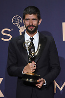 LOS ANGELES - SEP 22:  Ben Whishaw at the Emmy Awards 2019: PRESS ROOM at the Microsoft Theater on September 22, 2019 in Los Angeles, CA