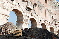 Roma 03/10/2017. Apertura del IV e V livello del Colosseo<br /> Rome October 3rd 2017. Opening of the IV and V levels of Colosseum.<br /> Foto Samantha Zucchi Insidefoto