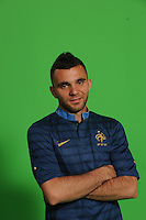 Marvin Martin  .29/5/2012 .Calcio Foto Ufficiali Francia Euro2012.Foto Insidefoto / Anthony Bibard / FEP/ Panoramic ITALY ONLY