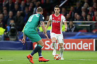 Dusan Tadic of Ajax and Toby Alderweireld of Tottenham Hotspur during AFC Ajax vs Tottenham Hotspur, UEFA Champions League Football at the Johan Cruyff Arena on 8th May 2019