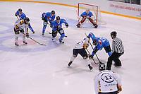 IJSHOCKEY: LEEUWARDEN: 04-10-2015, Elfstedenhal, UNIS Flyers - Tilburg Trappers, uitslag 9-1, ©foto Martin de Jong