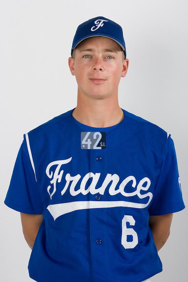 15 Aug 2007: Anthony Piquet - Team France Baseball