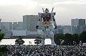 Giant Gundam Statue in Odaiba
