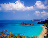 Trunk Bay, Virgin Islands Natioanl Park, St. John, U.S. Virgin Islands, Caribbean Sea, March