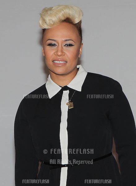 Emeli Sande arriving for the 2012 Brit Awards, O2 Arena, London. 21/02/2012 Picture by: Simon Burchell / Featureflash