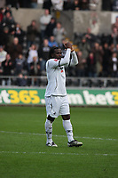 Pictured: Jason Scotland of Swansea City <br /> Re: Coca Cola Championship, Swansea City FC v Doncaster Rovers at the Liberty Stadium. Swansea, south Wales, Saturday 21 February 2009<br /> Picture by D Legakis Photography / Athena Picture Agency, Swansea 07815441513