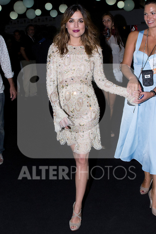 03.09.2012. Adriana Ugarte attends the L'Oreal award presentation in the Mercedes-Benz Fashion Week Madrid Spring/Summer 2013 at Ifema. In the image (Alterphotos/Marta Gonzalez)
