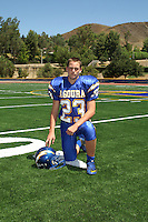 Agoura Hills High School football player