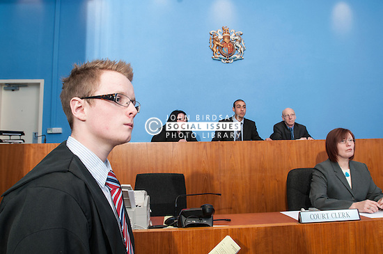 Usher in Sheffield Magistrates' court