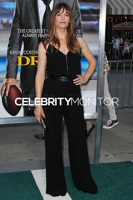 "WESTWOOD, LOS ANGELES, CA, USA - APRIL 07: Actress Jennifer Garner arrives at the Los Angeles Premiere Of Summit Entertainment's ""Draft Day"" held at the Regency Bruin Theatre on April 7, 2014 in Westwood, Los Angeles, California, United States. (Photo by Xavier Collin/Celebrity Monitor)"
