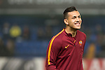 Leandro Paredes of AS Roma before the match Villarreal CF vs AS Roma, part of the UEFA Europa League 2016-17 Round of 32 at the Estadio de la Cerámica on 16 February 2017 in Villarreal, Spain. Photo by Maria Jose Segovia Carmona / Power Sport Images