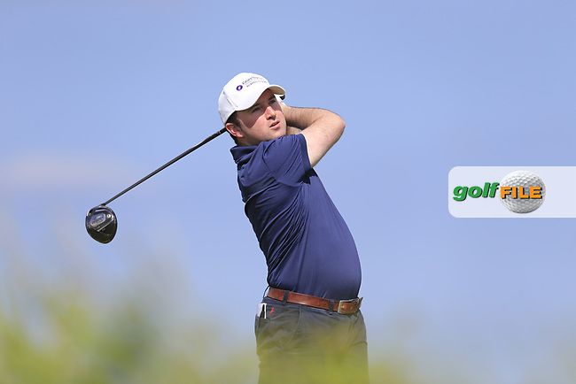 Paul O'Hanlon (Carton House) during the 1st round of the East of Ireland championship, Co Louth Golf Club, Baltray, Co Louth, Ireland. 02/06/2017<br /> Picture: Golffile | Fran Caffrey<br /> <br /> <br /> All photo usage must carry mandatory copyright credit (&copy; Golffile | Fran Caffrey)
